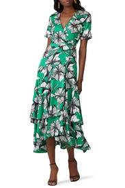 Deanna Wrap Dress by Alexis