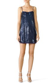 Time To Shine Sequin Slip Dress by Free People