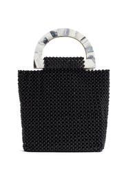 Black Luma Tote by Cleobella Handbags