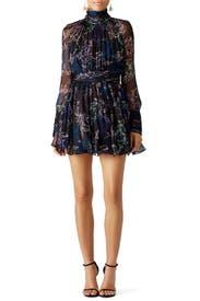 Garden Print Dress by Emanuel Ungaro