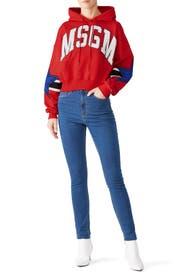 MSGM Star Sweatshirt by MSGM