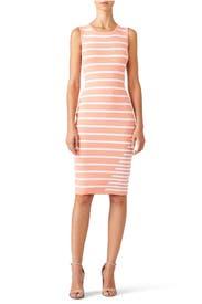 Striped Gia Dress by John + Jenn