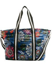 Blue Floral Wingman Bag by Think Royln