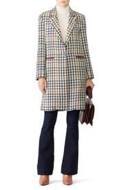 Houndstooth Nola Coat by Waverly Grey