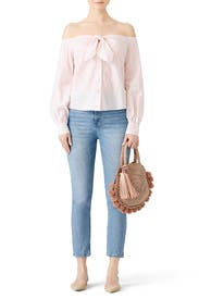 Hello There Beautiful Blouse by Free People
