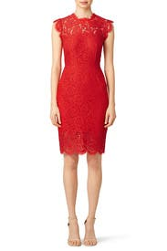 Rouge Suzette Dress by Rachel Zoe