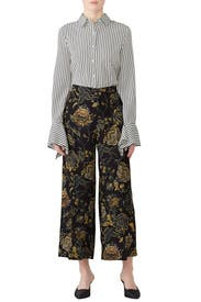 Cady Printed Pants by Fuzzi