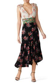 Floral Lolly Dress by AMUR