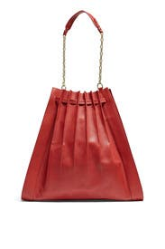Brick Florence Large Pleated Drawstring Tote by 3.1 Phillip Lim Accessories