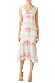 Floral Greta Dress by Vilshenko