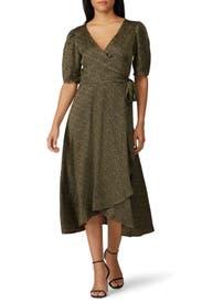 Lumi Wrap Dress by B Collection by Bobeau