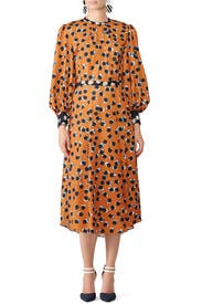 Burnt Dot Casper Dress by Hunter Bell
