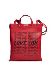 Love You Magazine Tote by Rebecca Minkoff Accessories