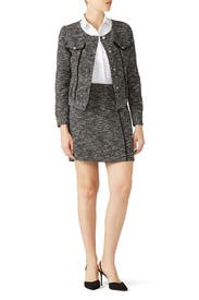 Black Tweed Jacket by Slate & Willow