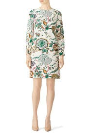Ivory Marilyn Dress by Tory Burch