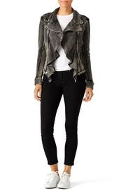 Cable Knit Moto Jacket by Free People
