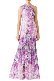 Purple Orchid Gown by Badgley Mischka