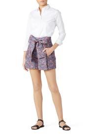 Kayoko Tie Waist Shorts by J.Crew
