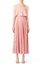 Rose Water Pleated Gown by Jill Jill Stuart