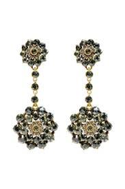 I See Stars Earrings by Oscar de la Renta