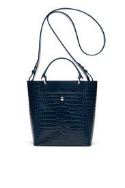 Peacock Croc Eloise Tote by Elizabeth and James Accessories