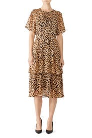 Blanchette Leopard Dress by RACHEL ROY COLLECTION