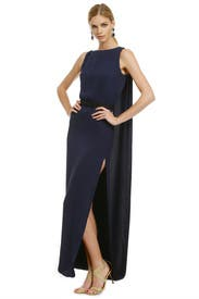 Night Raven Gown by HALSTON
