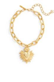 Sacred Heart Necklace by Oscar de la Renta