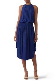 Blue Audrey Dress by Ramy Brook