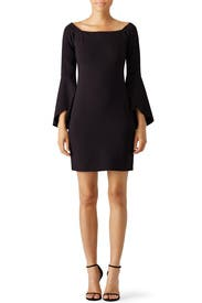Black Janis Dress by Slate & Willow