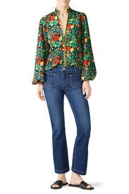 The Cropped Boot Cut Jeans by Current/Elliott