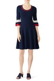 Bell Sleeve Sweater Dress by Draper James