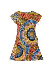 Kids Multi Print Dress by Moschino Kids
