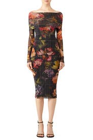 Menswear Floral Sheath by Fuzzi
