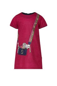 Kids Trompe L'oeil Snapshot Dress by Little Marc Jacobs