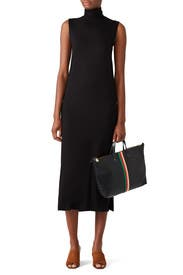 Sleeveless Turtleneck Dress by VINCE.