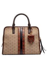 Natural Gemini Link Satchel by Tory Burch Accessories