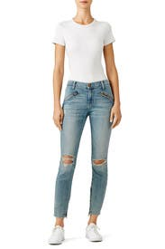 Silverlake Zip Jeans by Current/Elliott