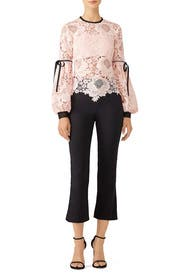 Pink Elva Lace Top by UnitedWood