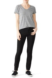 Black Emma Skinny Jeans by DL1961