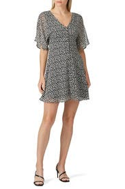 Printed Ivy Dress by AllSaints