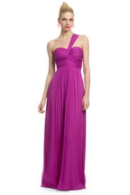 Magenta Orchid Gown by Carlos Miele