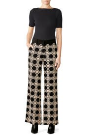 Geo Pajama Pants by Derek Lam 10 Crosby