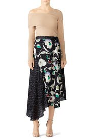 Matisse Floral Dot Skirt by Jason Wu