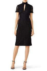 Black Giana Dress by Shoshanna