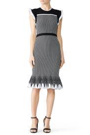 Striped Sinead Dress by Shoshanna