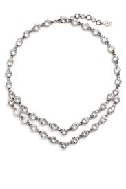 Crystal Dot Necklace by Ben-Amun
