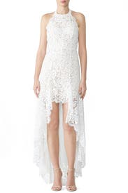 Drifter Lace T-Back Dress by Aijek