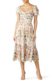 Scalloped Faith Dress by ELLIATT