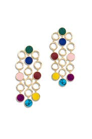 Muti Triple Drop Earrings by Joanna Laura Constantine